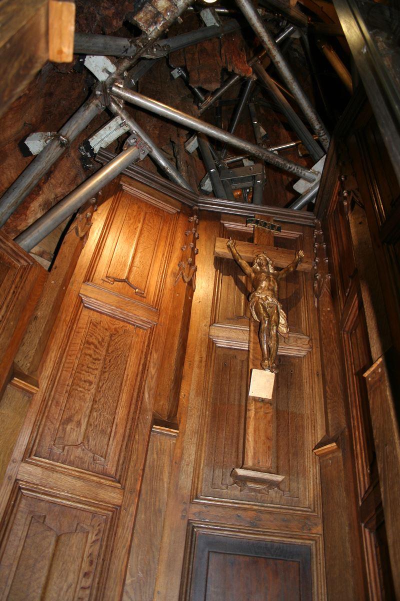 Chêne Chapelle, a capela dentro de um carvalho