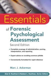 Cover of: Essentials of forensic psychological assessment | Marc J. Ackerman
